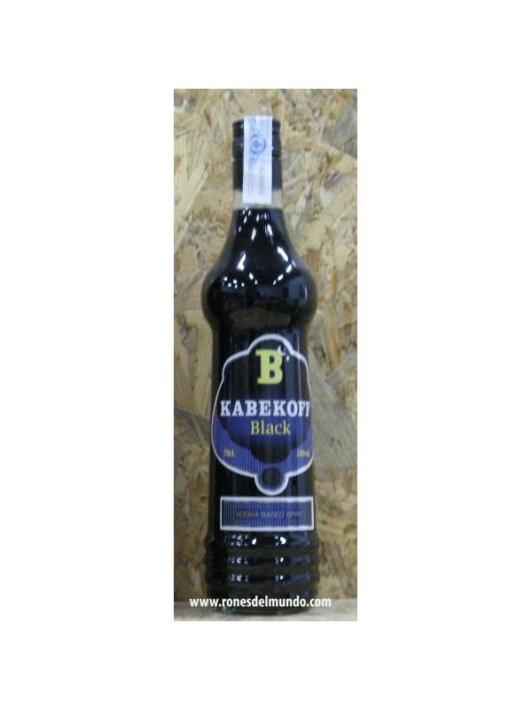 VODKA KABEKOFF BLACK -