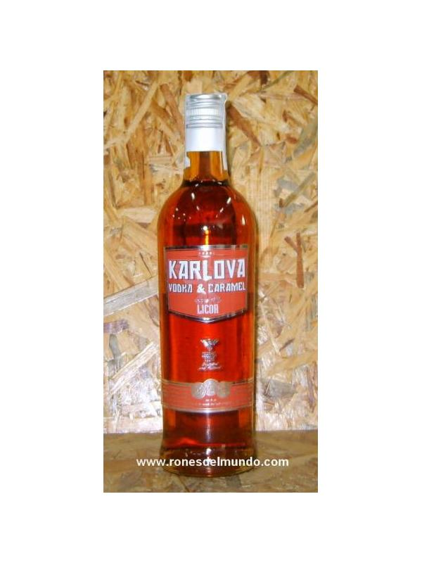 VODKA CARAMELO KARLOVA - VODKA CON CARAMELO
