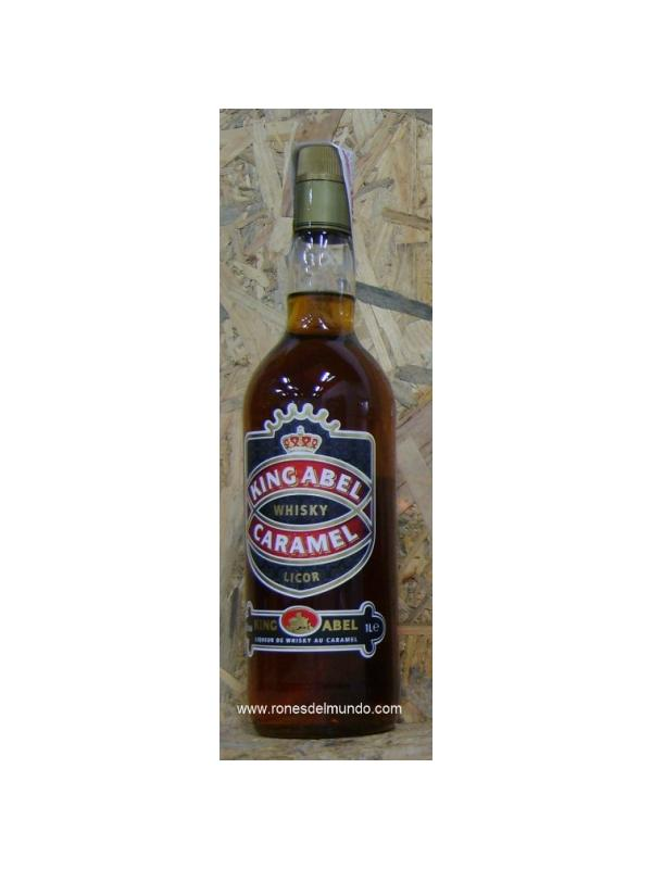 LICOR DE WHISKY Y CARAMELO KING ABEL 1 L -