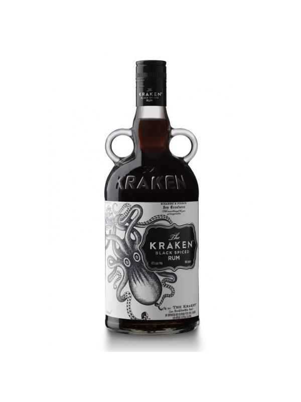 RON KRAKEN - RON - RHUM - RUM KRAKEN El ron caribeño The Kraken Black Spiced Rum sorprende el paladar con un suave sabor especiado envasado en una singular réplica de la clásica botella de ron victoriana.