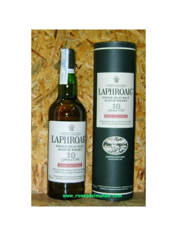 WHISKY LAPHROAIG 10 AÑOS ORIGINAL CASK STRENGTH