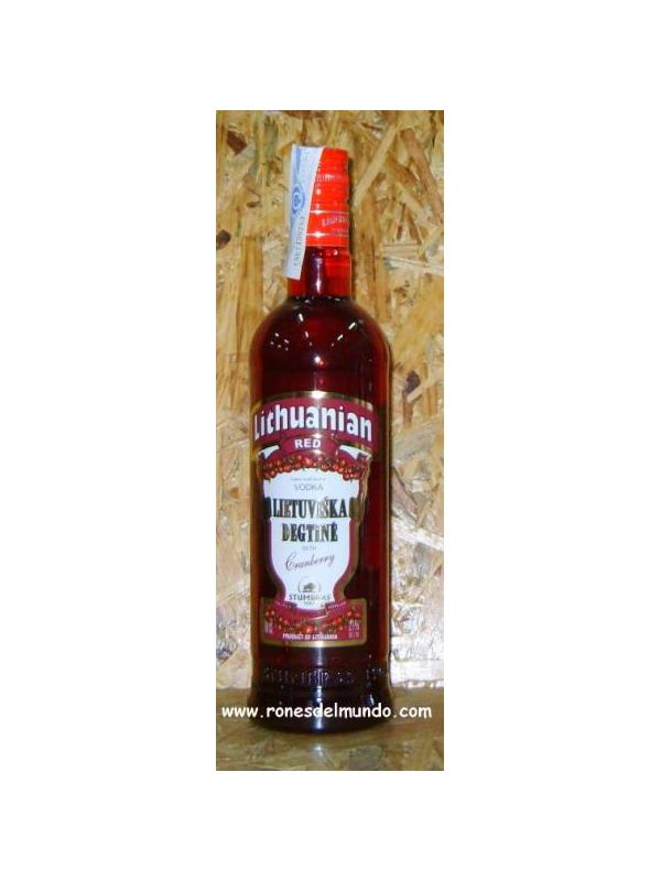 VODKA LITHUAIAN RED