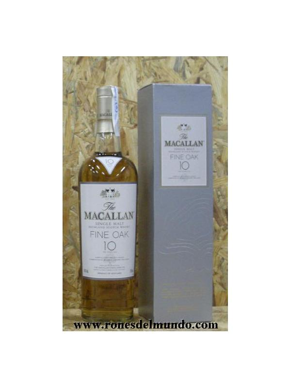 WHISKY MACALLAN 10 FINE OAK