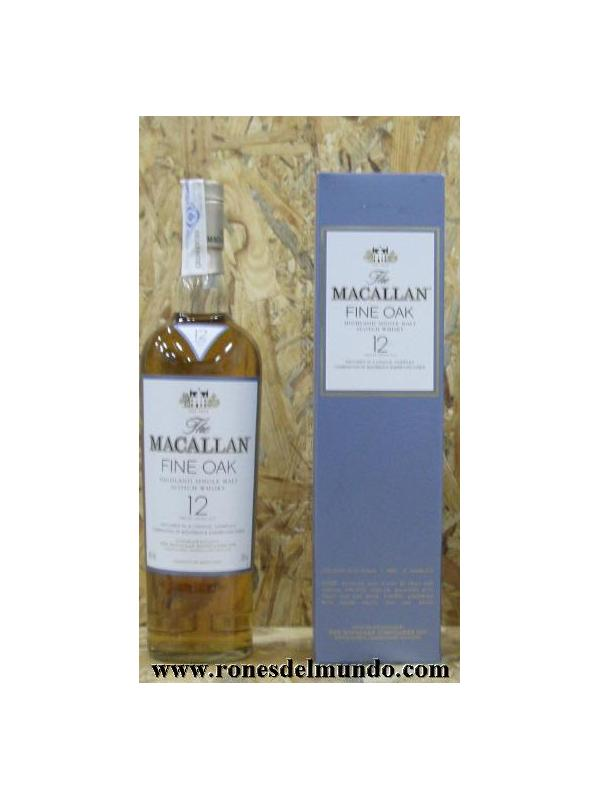 WHISKY MACALLAN 12 FINE OAK