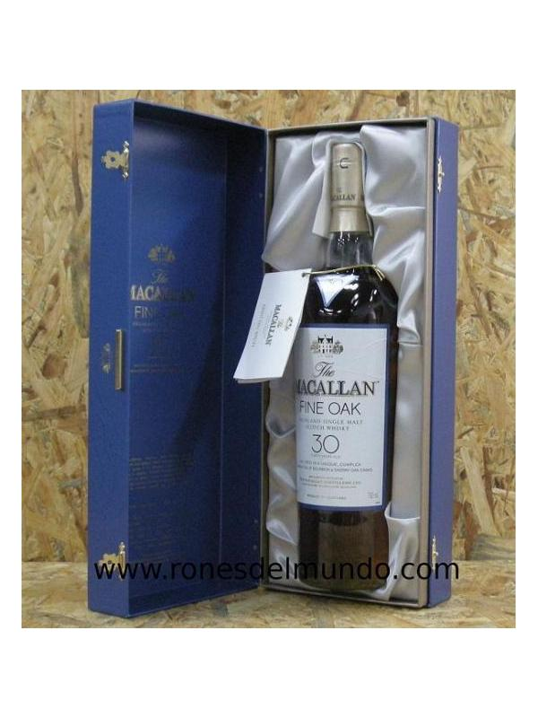 WHISKY MACALLAN FINE OAK 30 AÑOS