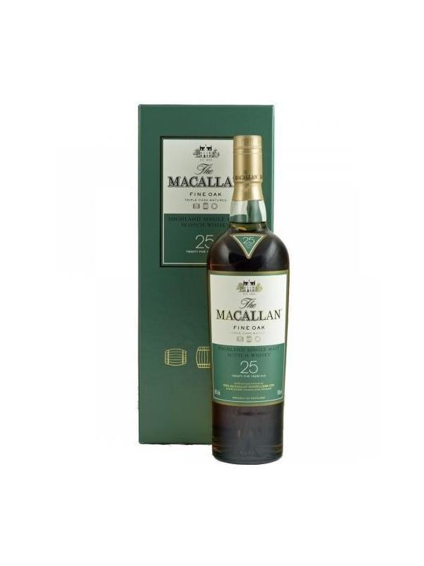WHISKY MACALLAN 25 AÑOS FINE OAK