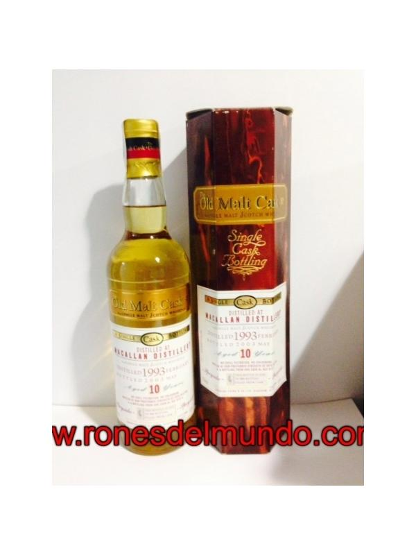 WHISKY MACALLAN THE OLD MALT CASK 10 AÑOS