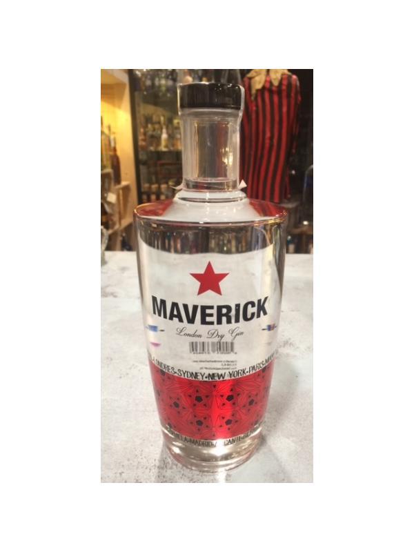 GINEBRA MAVERICK - GINEBRA ESPAÑOLA MAVERICK Ginebra tipo London dry