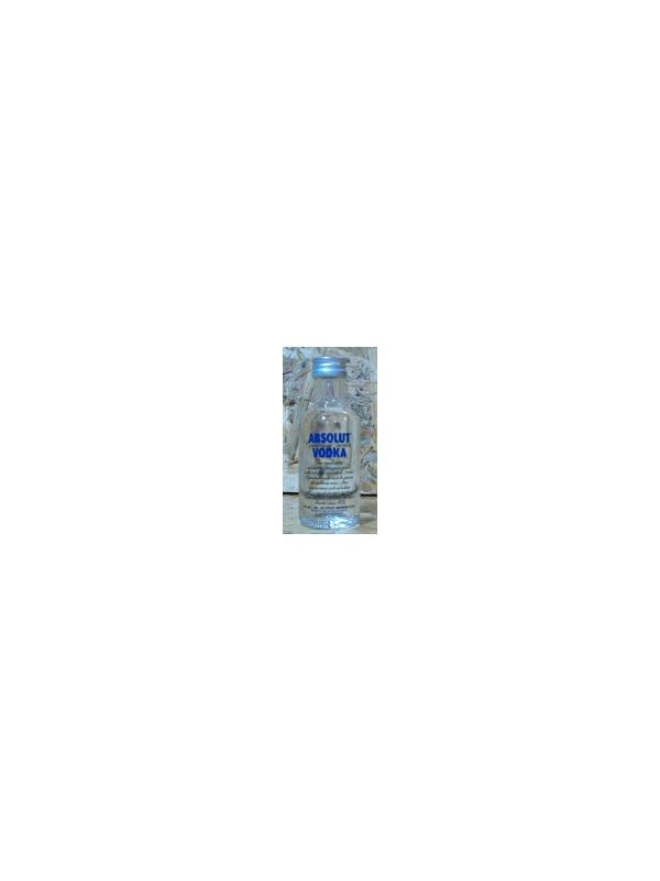 MINIATURA ABSOLUT 5 CL CRISTAL - MINIATURA ABSOLUT 5 CL CRISTAL