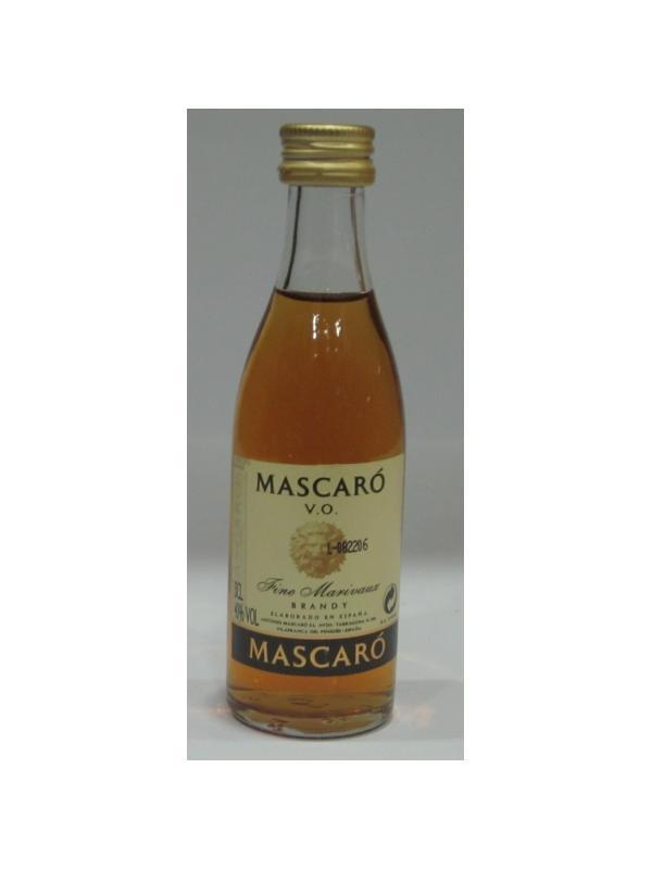 MINIATURA BRANDY MASCARO - MINIATURA BRANDY MASCARO