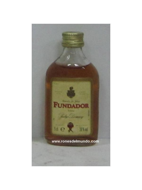 MINIATURA DE FUNDADOR - MINIATURA DE BRANDY FUNDADOR