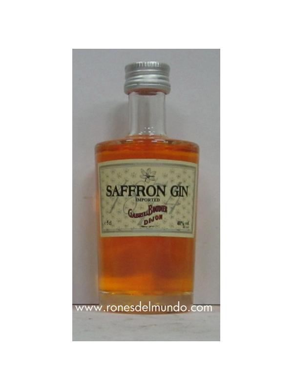 MINIATURA GINEBRA SAFFRON - MINIATURA GINEBRA SAFFRON GIN