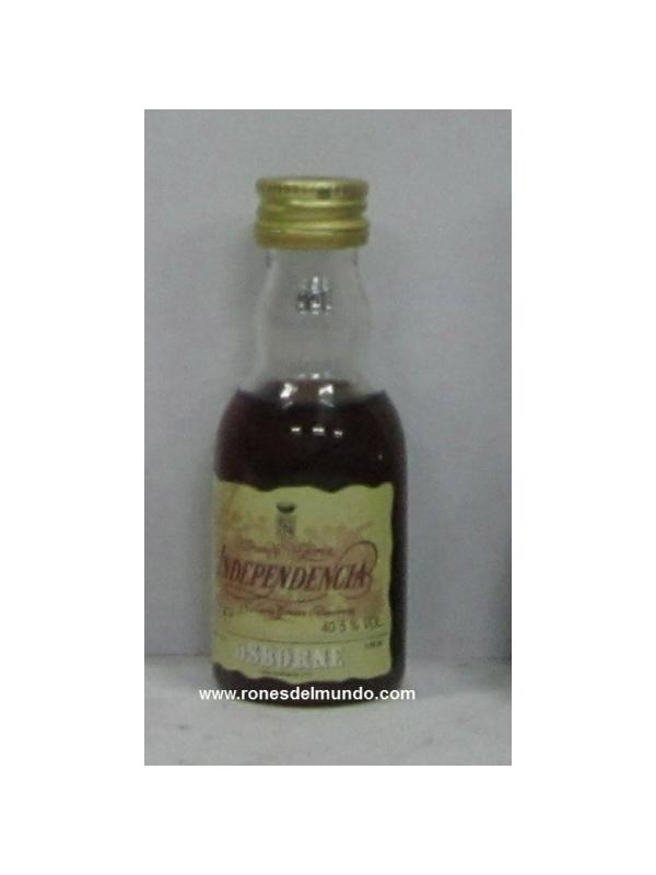 MINIATURA BRANDY INDEPENDENCIA