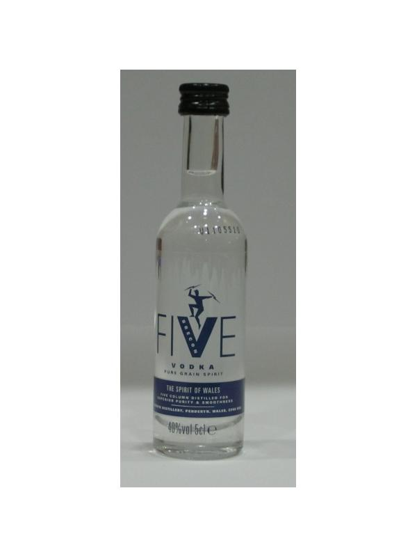 MINIATURA VODKA FIVE - MINIATURA VODKA FIVE