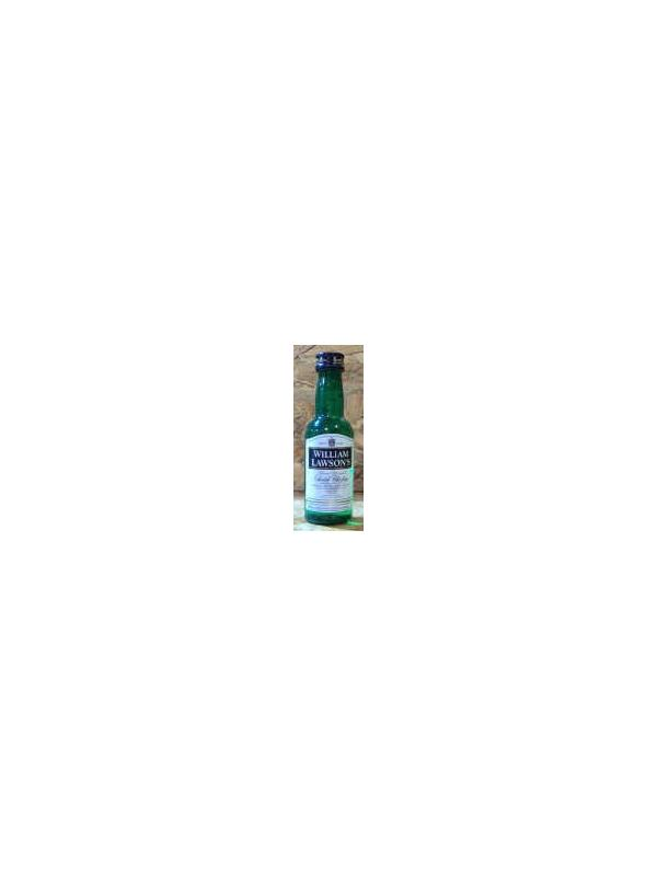MINIATURA WHISKY WILLIAMS LAWSONS ( PLASTICO)
