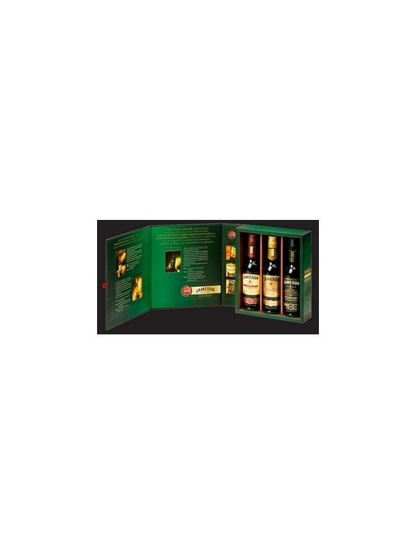 WHISKY JAMESON PACK SPECIAL - GOLD - LIMITED 200 ML - PACK DE TRES BOTELLAS SPECIAL, GOLD Y LIMITED EN FORMATO 200 ML