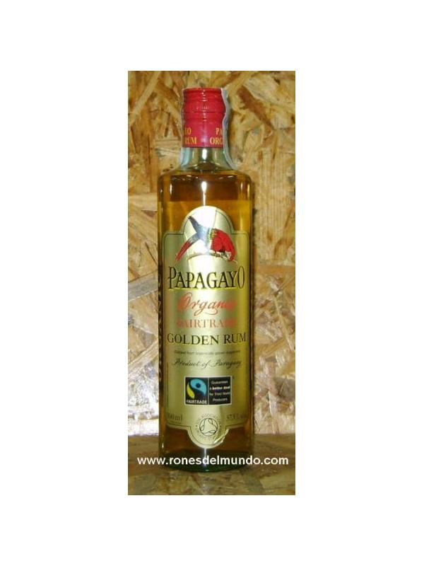 RON PAPAGAYO GOLD RHUM ECOLOGIC