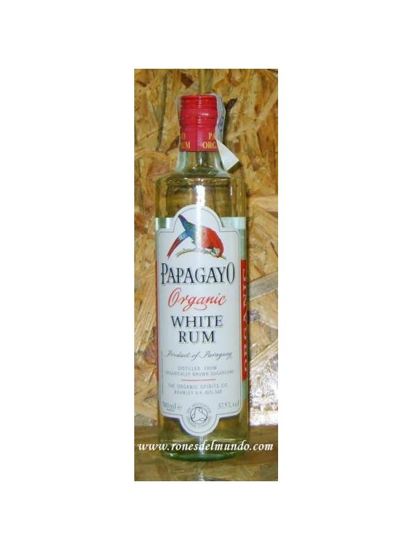 RON PAPAGAYO WHITE RUM - Ron BIOPapagayo Especiado (70cl) Paraguay OTISA. Grupo de más de 800 pequeños productores certificados que cultivan la caña de azúcar ecológica. 