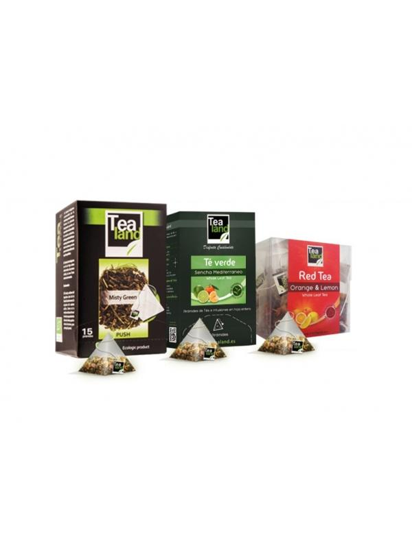 TEA LAND TÉ NEGRO 4 FRUTOS ROJOS