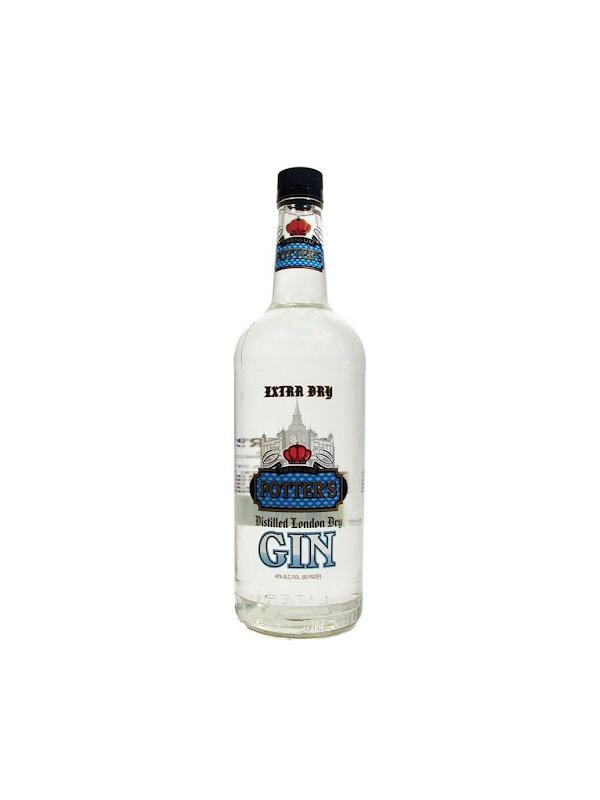 GINEBRA POTTER´S GIN ( USA ) 1L
