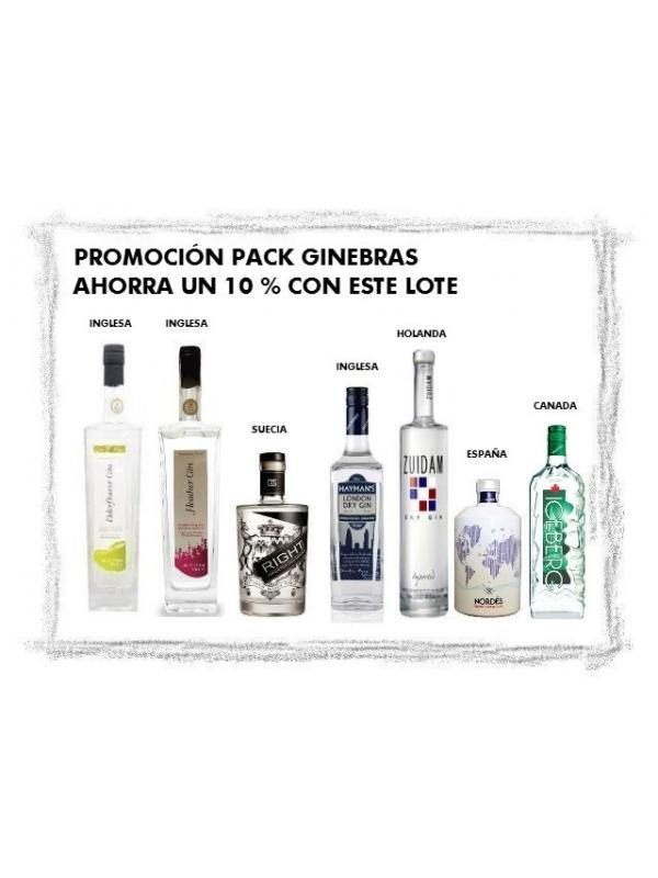 1 PROMOCION GIN HEATHER - ELDERFLOWER - RIGHT - HAYMAN - ICEBERG - NORDES