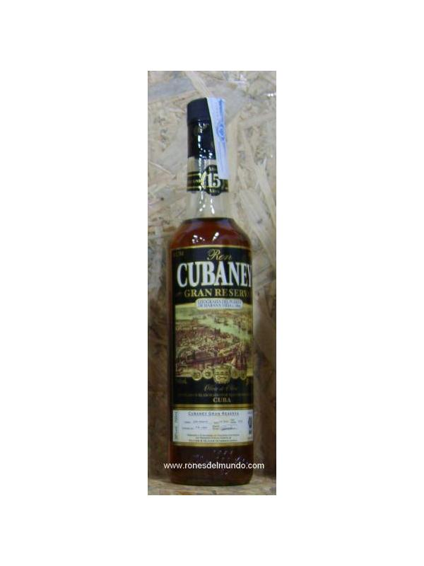 RON CUBANEY 15 GRAN RESERVA