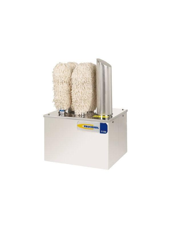 SECADORAS DE VASOS Y COPAS - Con la máquina secadora-abrillantadora de vasos usted dispondrá de vasos secos y abrillantados en segundos. Los vasos y copas húmedos son introducidos entre los rodillos secantes los cuales gracias a un movimiento rotatorio y con ayuda de aire caliente eliminan totalmente la humedad y los abrillantan eliminando cualquier marca de agua en segundos.  Por sus reducidas dimensiones el modelo SV-1000 puede ser colocado en diversas áreas de trabajo.