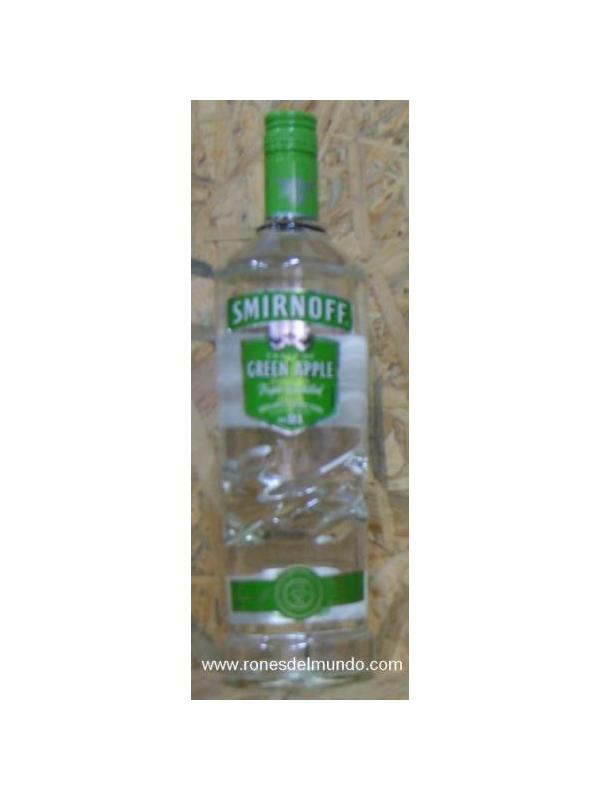 VODKA SMIRNOFF GREEN APPLE 1 L