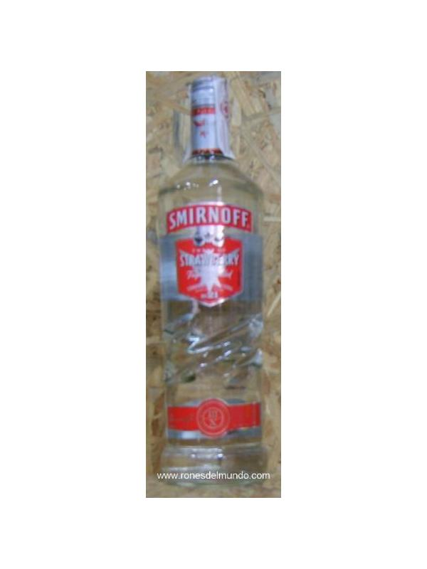 VODKA SMIRNOFF STRAWBERRY 1L