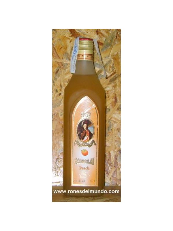 VODKA SZAMBELN PEACH - VODKA POLACO CON SABOR A MELOCOTON