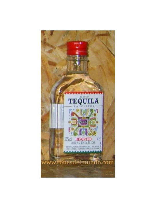 MINIATURA TEQUILA RANCHITOS BLANCO
