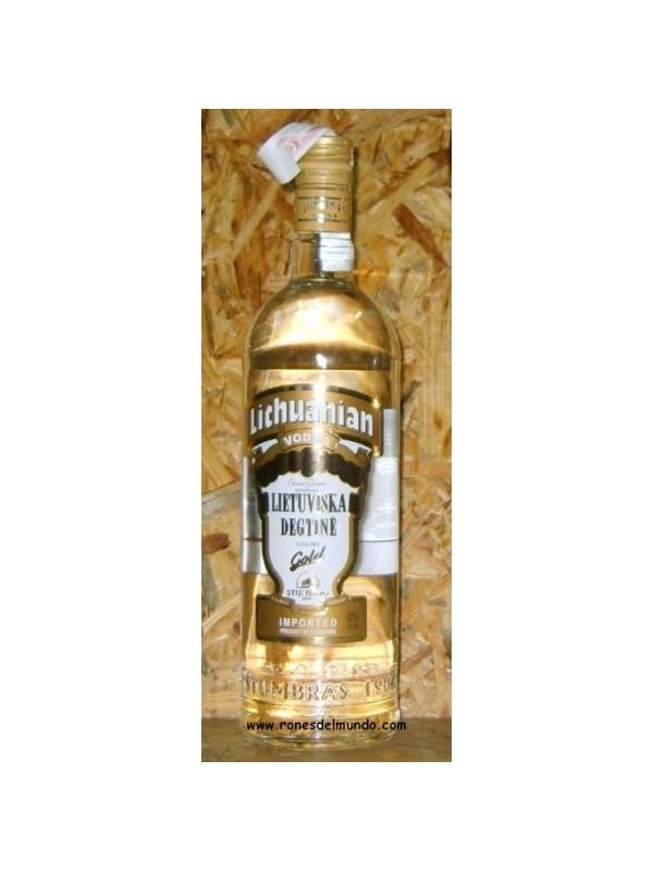 VODKA LITHUANIAN GOLD 1L