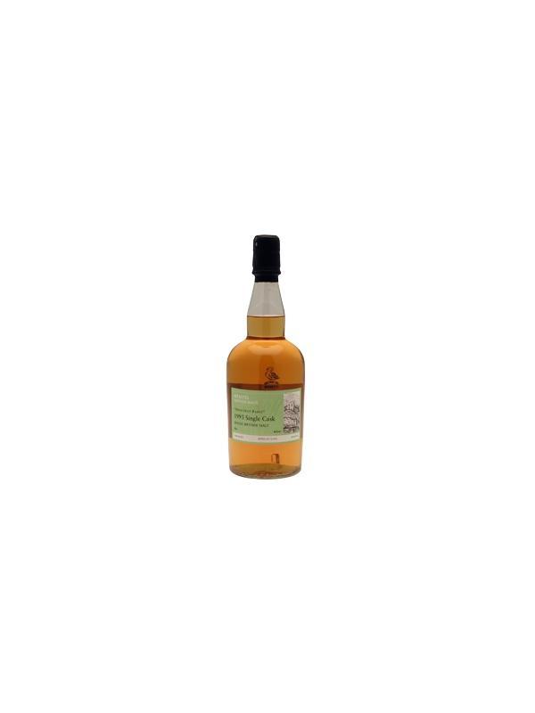 """WHISKY WEMYSS VITANGE MALTS - DRY FRUIT BASKER - SPEYSIDE - Single Malt Single Cask Whisky - Alcohol 46 % - Región Speyside - 1993 Sabor de frutas instantáneo y persistente en la nariz, lo que da un """"efecto seco"""".  Muy típico de la región de Speyside y un gran digestivo después de la cena. Una vez más embotellada en 46% sin adición de colorantes"""