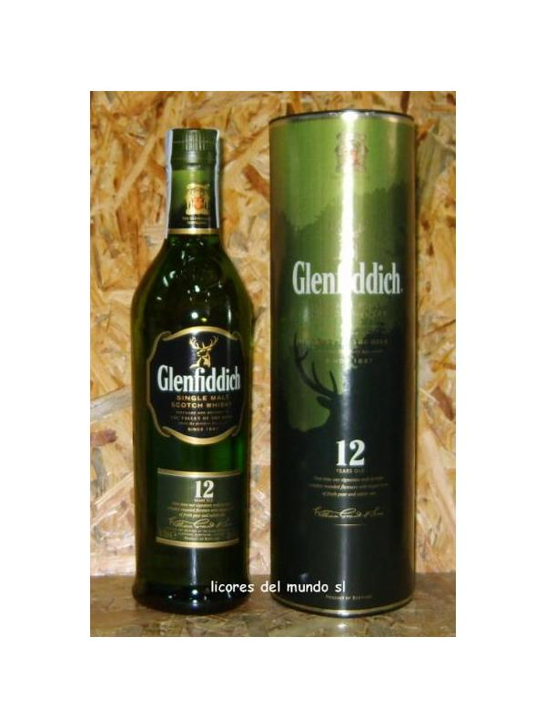 WHISKY GLENFIDDICH 12 AÑOS 100 CL