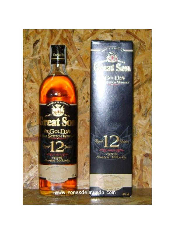 WHISKY GREAT SON 12 AÑOS