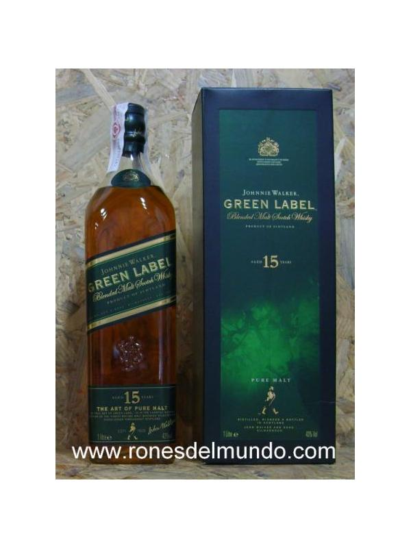WHISKY JHONNIE WALKER GREEN LABEL