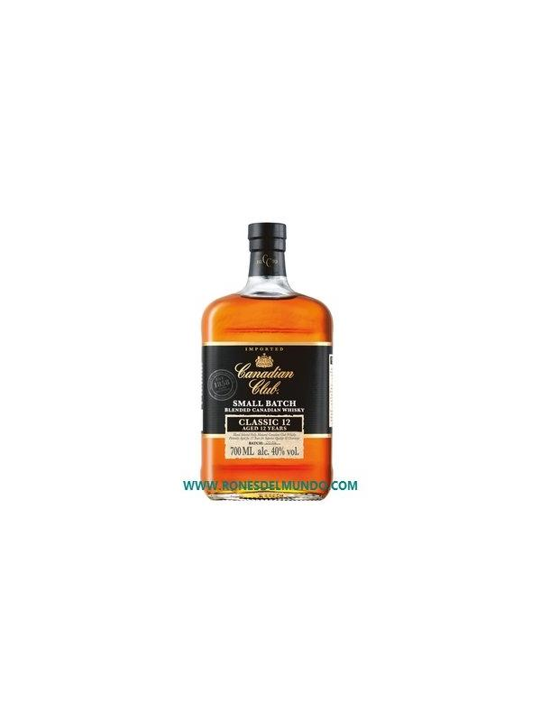 CANADIAN CLUB 12 AÑOS SMALL BATCH 1 LITRO