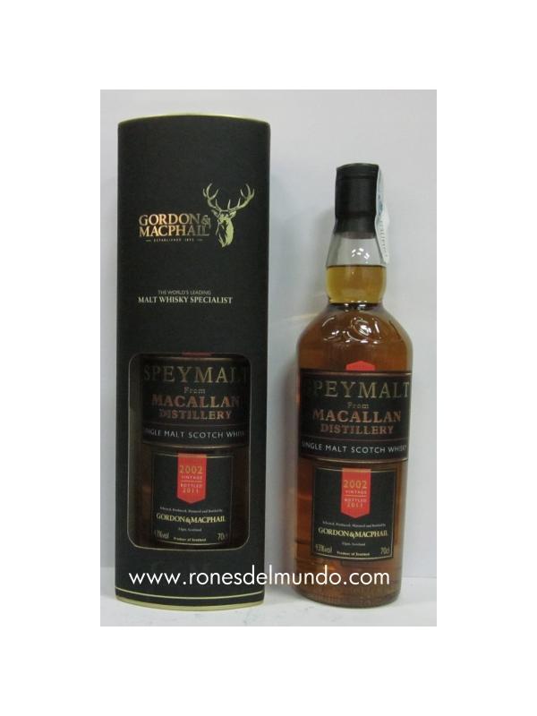WHISKY MACALLAN GORDON & MACPHAIL 2003 - WHISKY MACALLAN GORDON & MACPHAIL 2003 Este whisky de Gondon & macphail ha sido realizado por la destileria Macallan. Edición muy limitada a 6 botellas