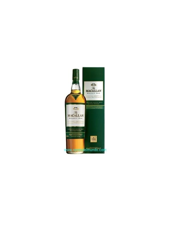 whisky Macallan Select Oak. 1 litro