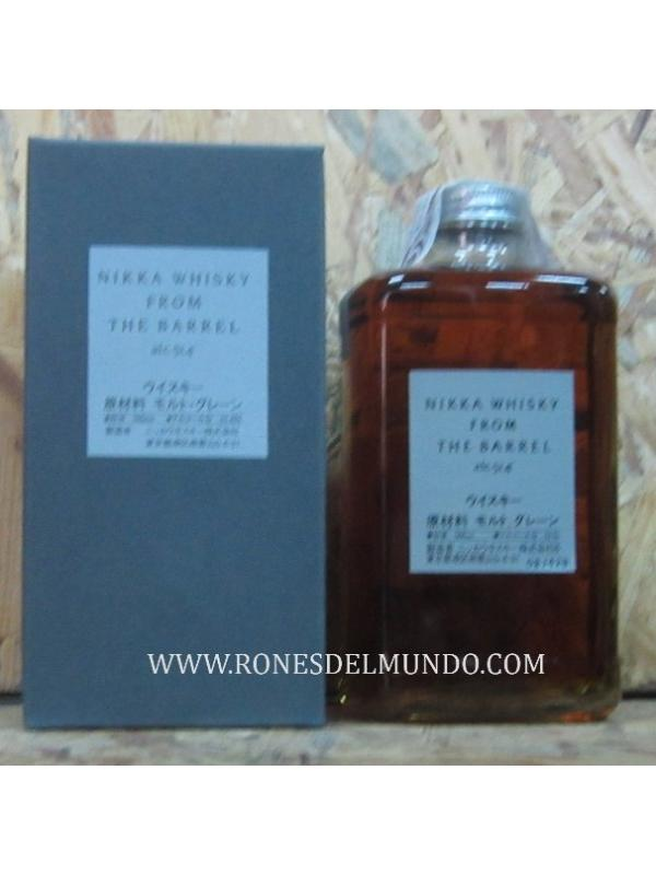 WHISKY NIKKA FROM BARREL 50 CL (JAPON) - WHISKY JAPONES 