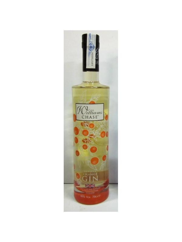 GINEBRA WILLIAMS CHASE ORANGE - GINEBRA GIN - INGLESA WILLIAMS CHASE ORANGE