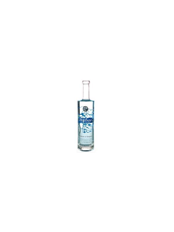GINEBRA ZEPHYR BLUE - Con botanicals más tradicional, Zephyr Blue,  el Céfiro es infundido con la baya del saúco dulce y la gardenia para crear una ginebra lisa, prima inglesa.   Medido a 40 prueba para un borde más liso, inténtelo aseado sobre el hielo, con la soda o como un clásico del Gin Tonic. Instituto de Bebida de Chicago 2008 - medalla De plata.  El Método de Destilación - el Céfiro es una Ginebra prima Seca de Londres producida por destilando de nuevo el espíritu de grano neutro con botanicals natural como bayas de enebro, la piel cítrica, y semillas de cilantro, pero también elderflower y la baya del saúco