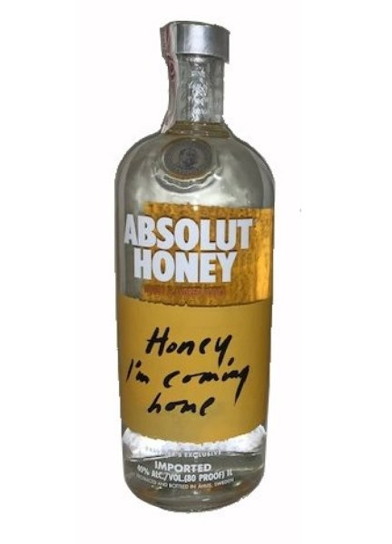 ABSOLUT HONEY 1 L