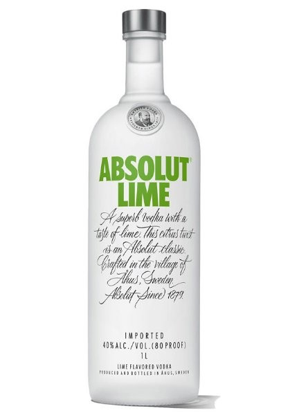 ABSOLUT LIME 1 L - ABSOLUT LIME 1 L