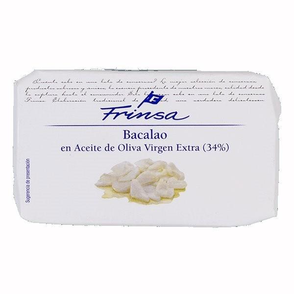 BACALAO EN ACEITE DE OLIVA VIRGEN EXTRA FRINSA