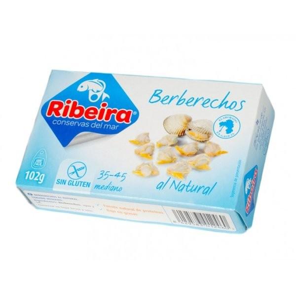 RIBEIRA BERBERECHO AL NATURAL 35/45 UNIDADES