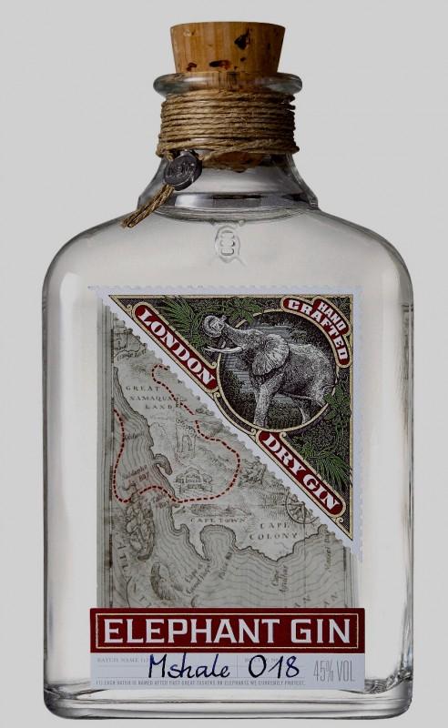 GIN ELEPHANT - GIN ELEPHANT BOTELLA 50 CL GRADUACION 45 %