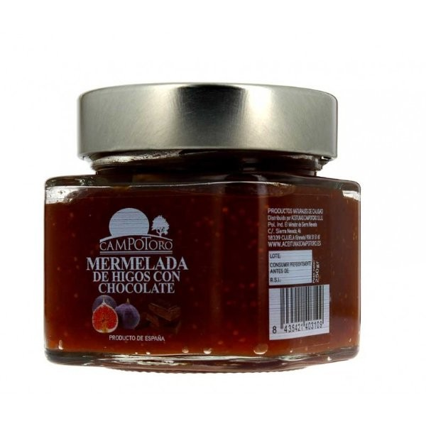 CAMPOTORO MERMELADA DE HIGOS CON CHOCOLATE