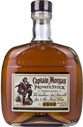 RON CAPTAIN MORGAN PRIVATE STOCK 1 LITRO