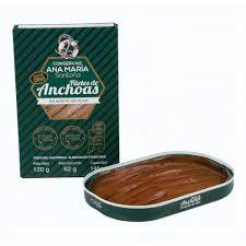 ANA MARIA FILETES DE ANCHOAS EN ACEITE DE OLIVA 120 G